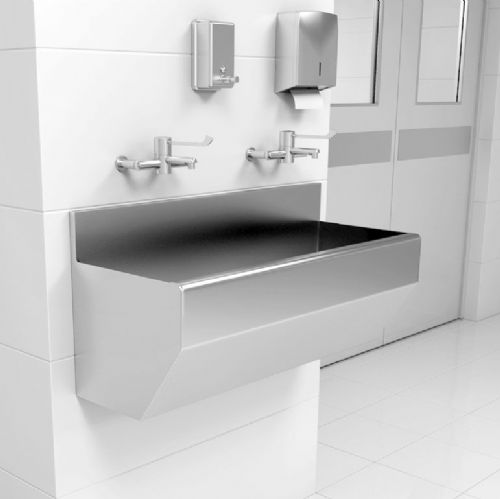 Splashback Surgeons Scrub Troughs by Healey & Lord